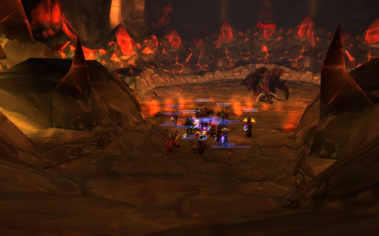 onyxia�s lair the crimson hammer