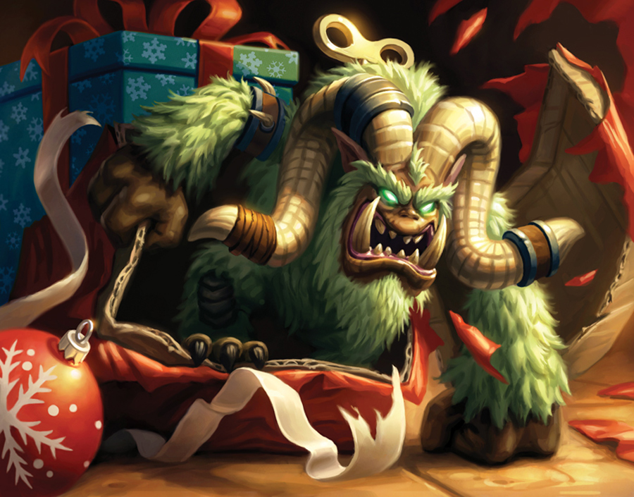 WoW TCG Sneak Peek - The Feast of Winter Veil (4/6)