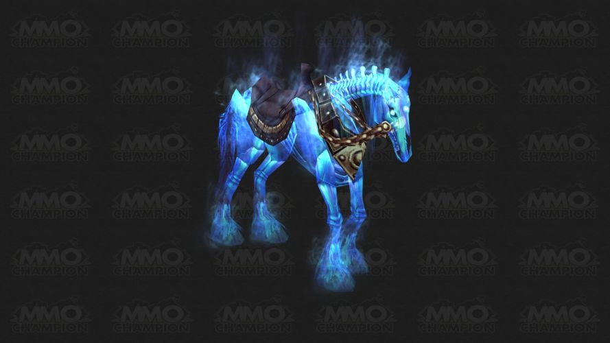 Ghastly Charger mount from MMO Champion