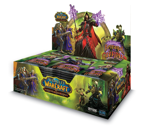 Betrayal of the Guardian booster box image from Cryptozoic