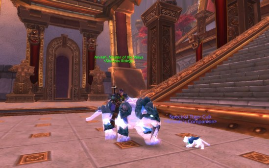 Spectral Tiger and Cub