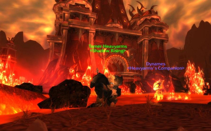 Dynames, the Pandaren Fire Spirit