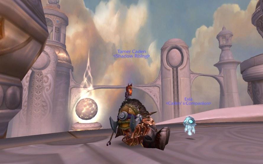 Exia, the Pandaren Air Spirit