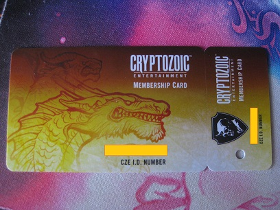 Cryptozoic Membership Card