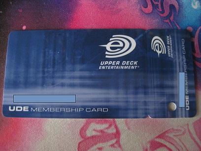 UDE Membership Card