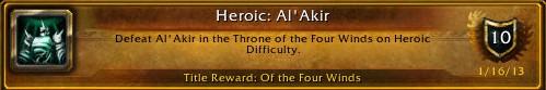 Heroic Al'Akir