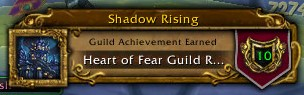 Heart of Fear Guild Run Complete
