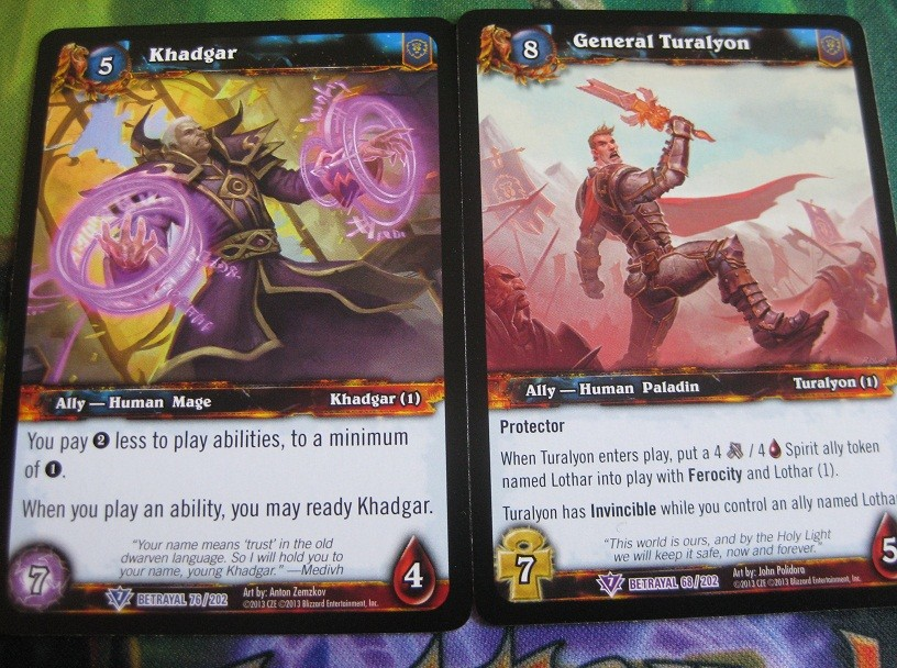 WoW TCG – Betrayal of the Guardian is here, so take a look, it's in a