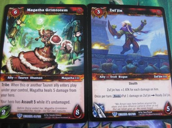 Magatha grimtotem and Zul'jin