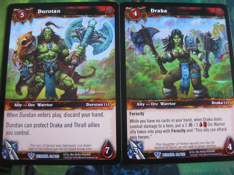 WOW WARCRAFT TCG BETRAYAL OF THE GUARDIAN MAGATHA GRIMTOTEM X 4