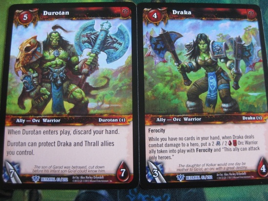 Thrall's Parents