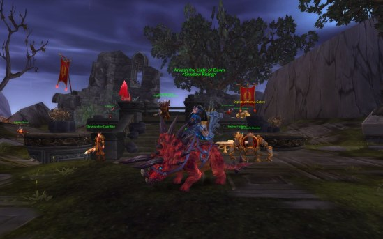 Reins of the Crimson Primal Direhorn