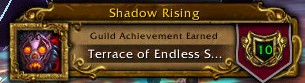 Shadow Rising Terrace of Endless Spring Complete!