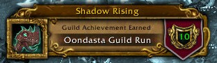 Oondasta Guild Run