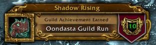 Oondasta Guild Run