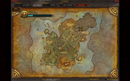 Location of the Thunder Forge