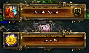 Double Agent and Val hits Level 90
