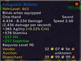 Fireguard, Reborn Description