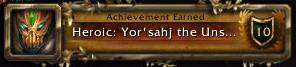 Heroic: Yor'sahj the Unsleeping