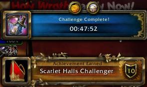 Scarlet Halls Challenger Time 04/20/13