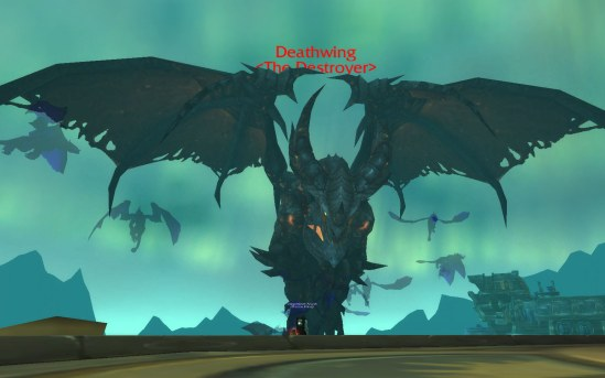Deathwing in Dragon Soul