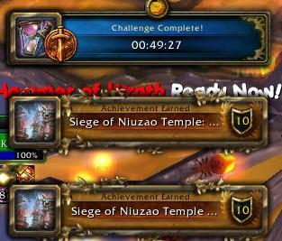 Siege of Niuzao Temple: Bronze
