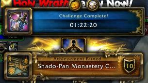 Shado-Pan Monastery Challenger