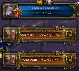 Stormstout Brewery: Bronze