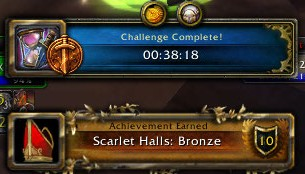 Scarlet Halls: Bronze