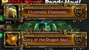 Chromatic Champion and Glory of the Dragon Soul Raider