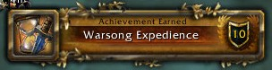 Warsong Expedience