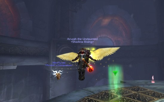 Flying Like Tyrael