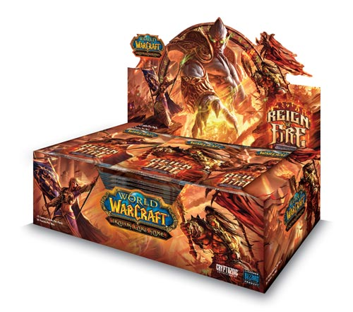 Reign of Fire booster box image from Cryptozoic
