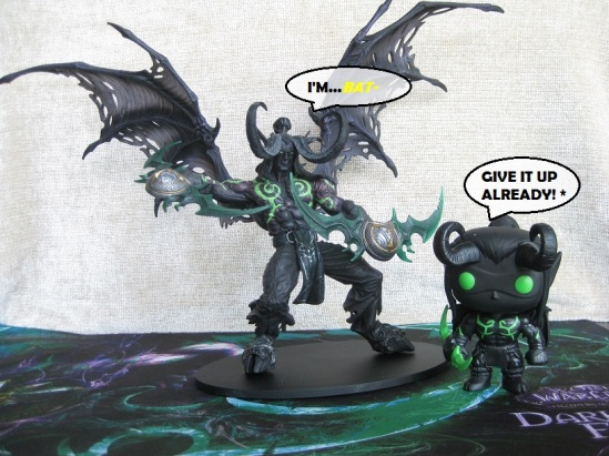 Shadow Illidan and Shadow Illidan