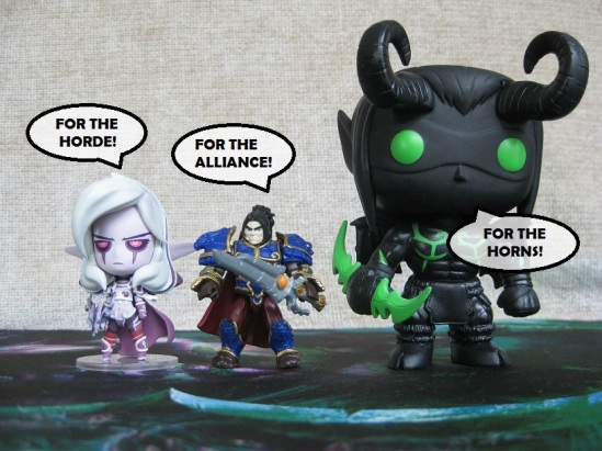 Sylvanas, Varian and Shadow Illidan