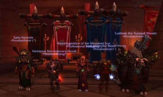 Navi, me, Karn, Luxy and Lush in Scarlet Monastery