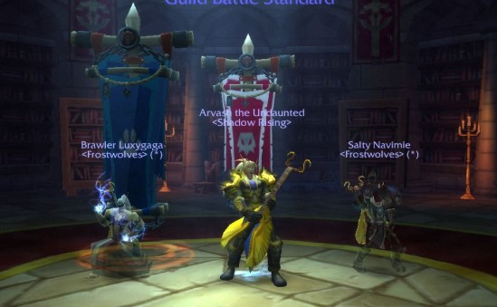 Luxy, me and Navi in Scarlet Halls