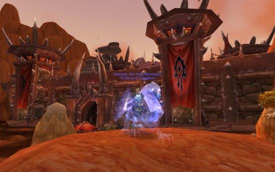 For the Hord-...er, Alliance!