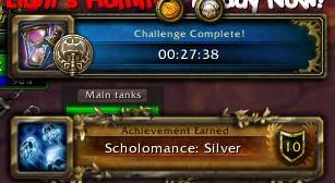 Scholomance Silver Time