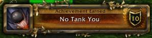 No Tank You