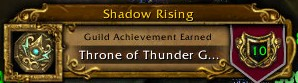 Shadow Rising Throne of Thunder Complete